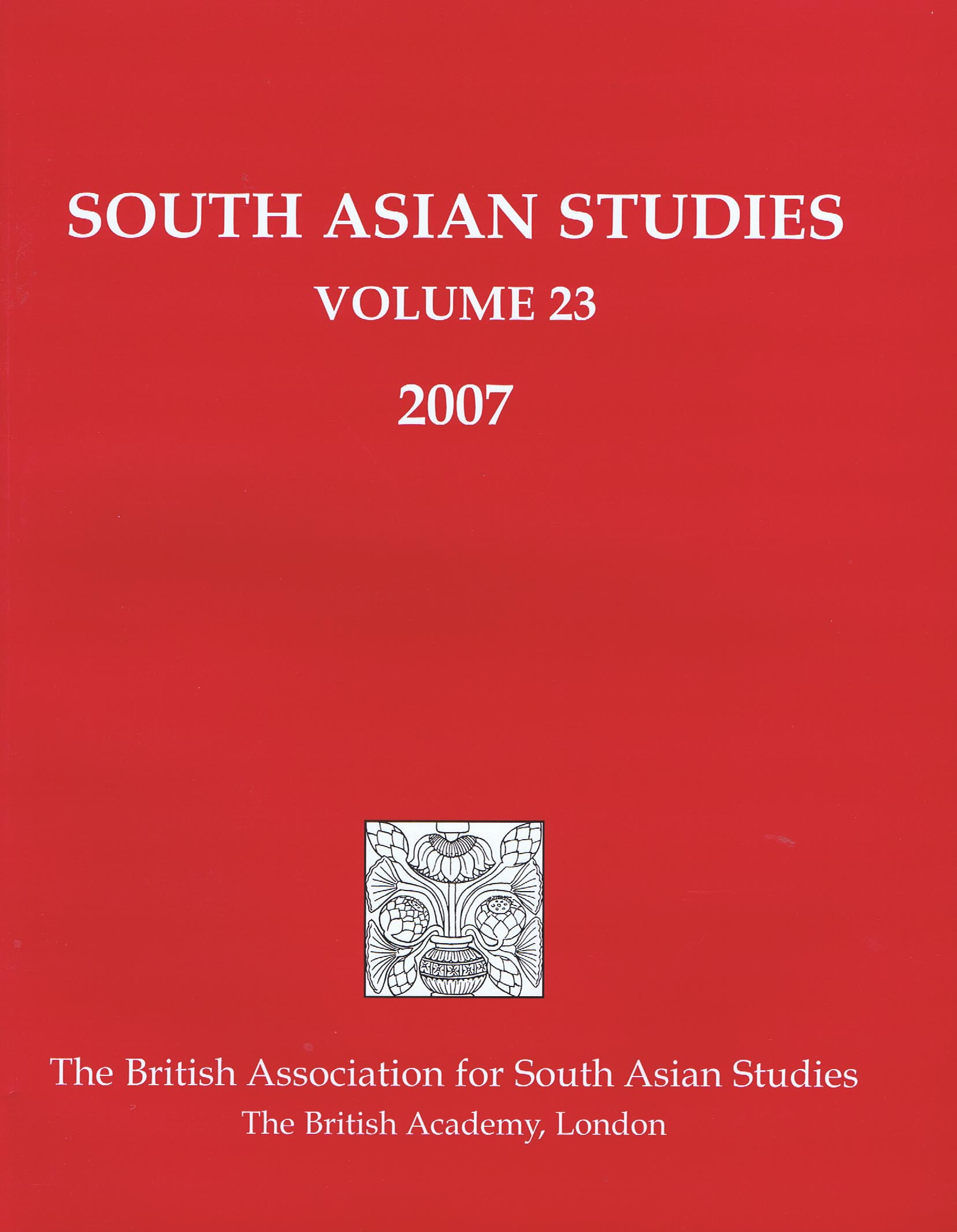 01_SAS,_vol_23,_2007_cover